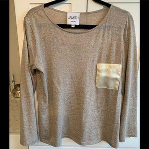 Women's wool blend long sleeve tee